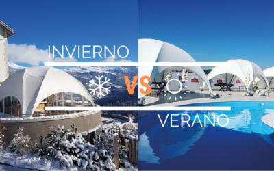 Carpas para eventos: Invierno vs Verano